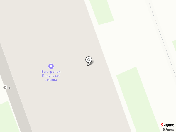 Магазин сантехники и мебели на карте Дзержинска