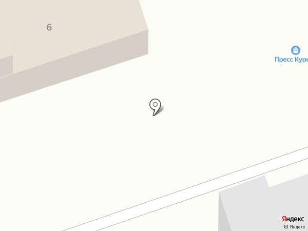 Добрая шаурма на карте Дзержинска