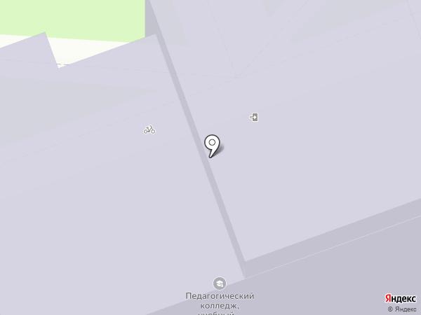 Дзержинский педагогический колледж на карте Дзержинска