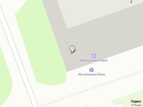 Росгосстрах банк, ПАО на карте Дзержинска