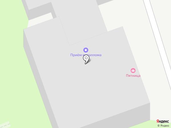 Пятница на карте Дзержинска