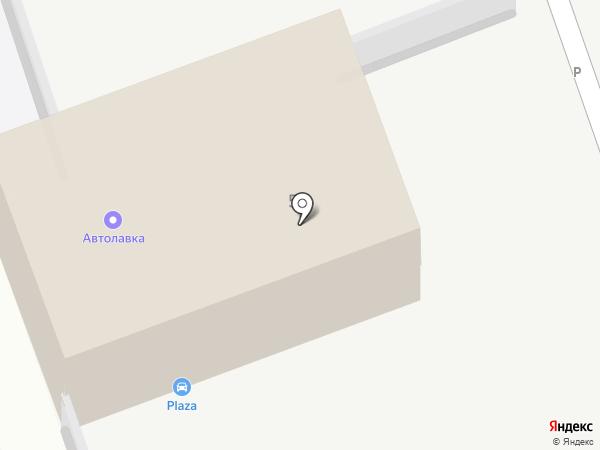 Штрафная автостоянка на карте Дзержинска