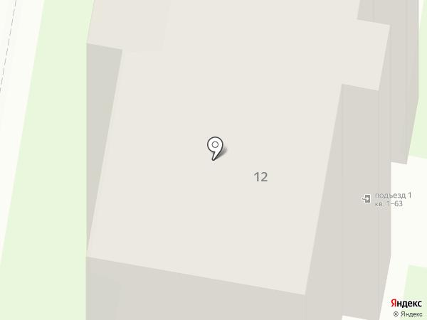 Хотей на карте Дзержинска
