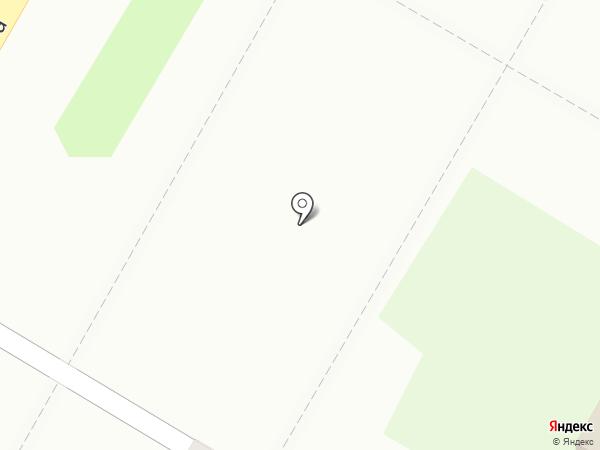 Киоск по продаже фруктов и овощей на карте Дзержинска