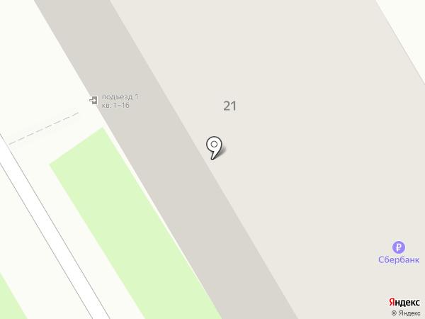 Пивчанский на карте Дзержинска