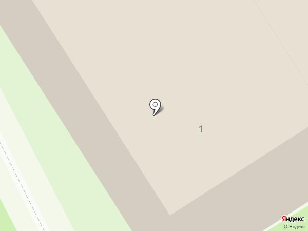 Дворец детско-юношеского творчества на карте Дзержинска