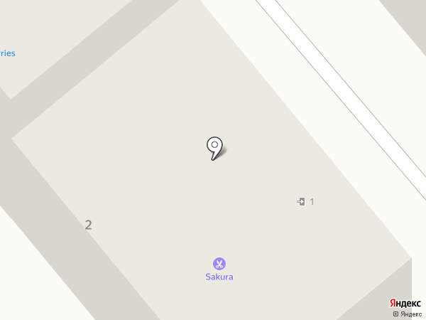 Sakura на карте Георгиевска