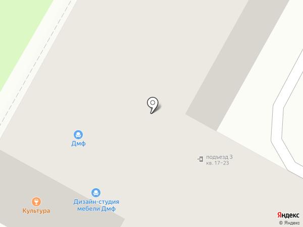 Стрекоза на карте Дзержинска