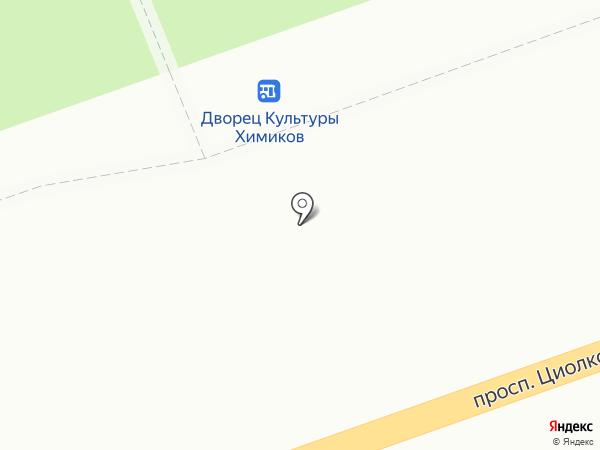 Печать на карте Дзержинска