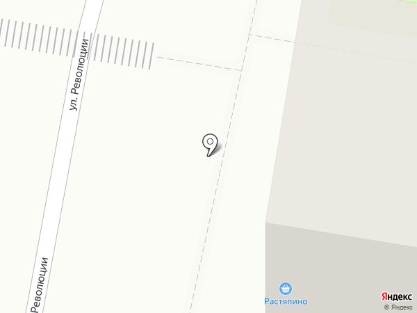 Магазин овощей и фруктов на карте Дзержинска