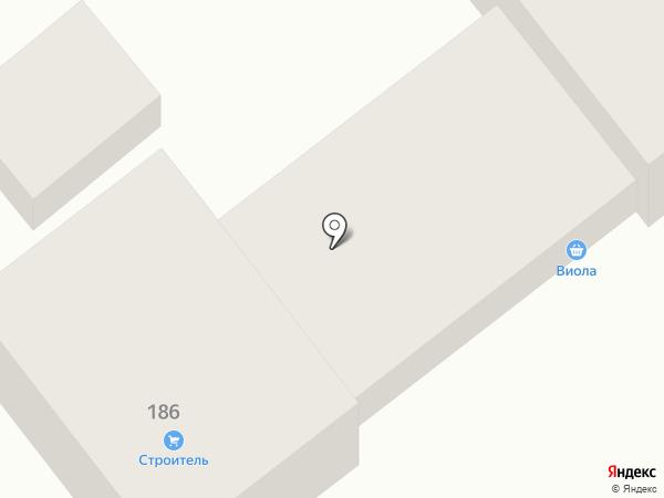 Строитель на карте Георгиевска