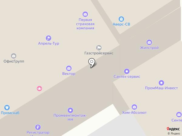 FINN GID на карте Дзержинска