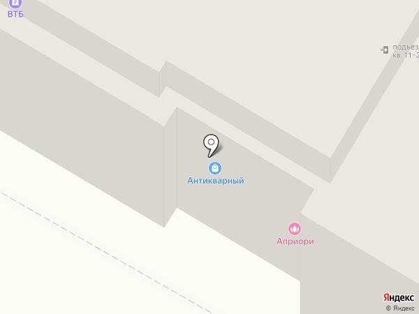Антикварный салон на карте Дзержинска