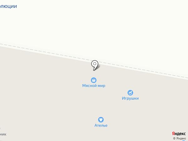 Магазин обуви на карте Дзержинска