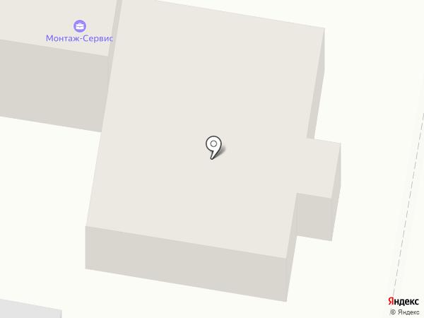 Строительно-производственная компания Монтаж-Сервис на карте Дзержинска