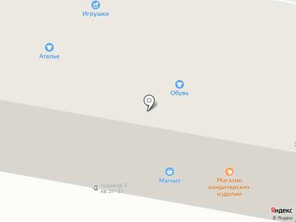 Чапаевский на карте Дзержинска