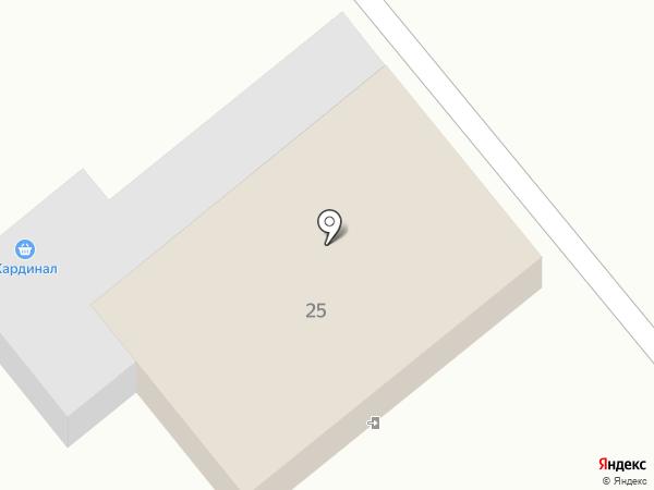 Кардинал на карте Георгиевска