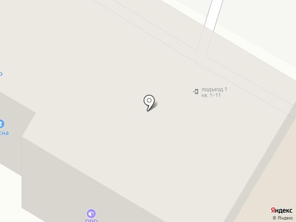 Город, МБУ на карте Дзержинска