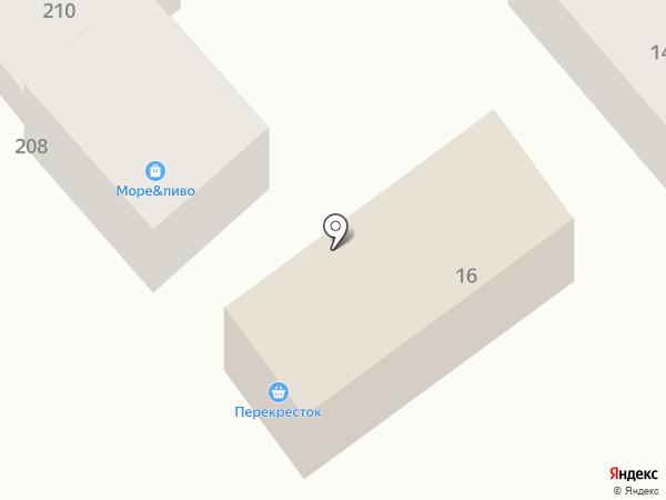 Перекресток на карте Георгиевска