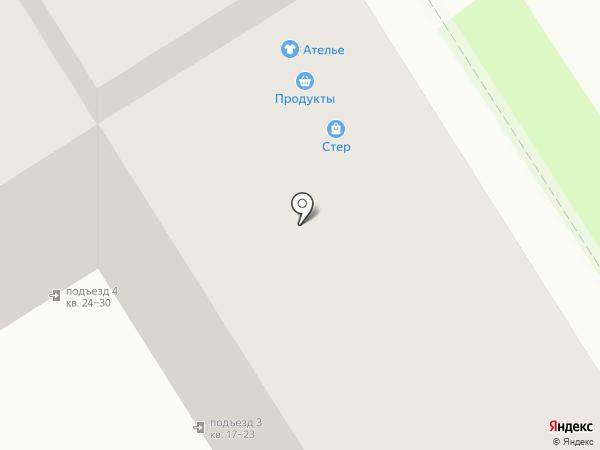 Стэф на карте Дзержинска