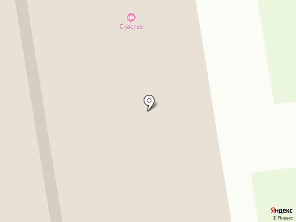 Барберм на карте Дзержинска