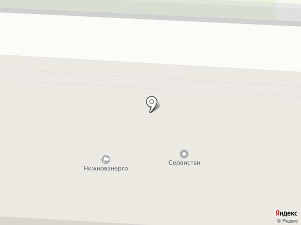 Капуста на карте Дзержинска