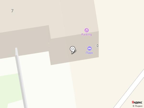 Parking на карте Дзержинска