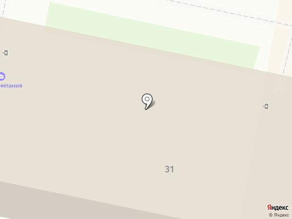Саровбизнесбанк, ПАО на карте Дзержинска