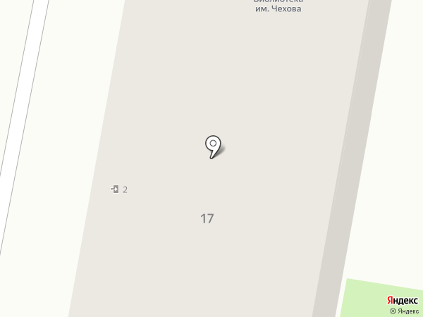 Библиотека семейного чтения им. А.П. Чехова на карте Дзержинска