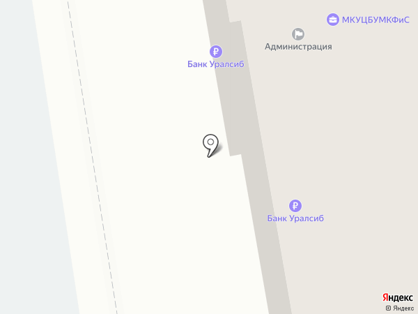 Строитель на карте Дзержинска