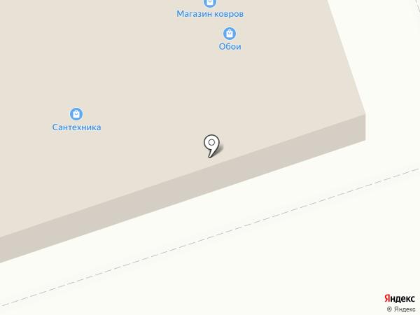 Магазин обоев на карте Дзержинска