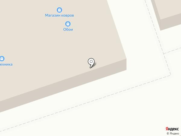 Магазин постельных принадлежностей на карте Дзержинска