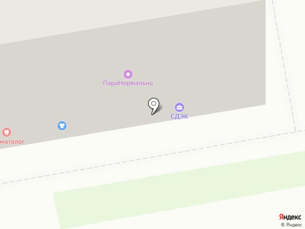 Царский букет на карте Дзержинска