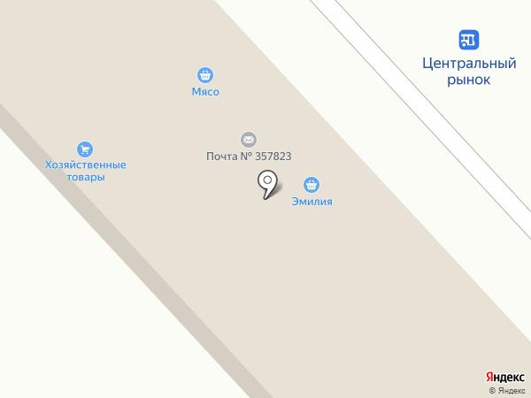 Сударушка на карте Георгиевска