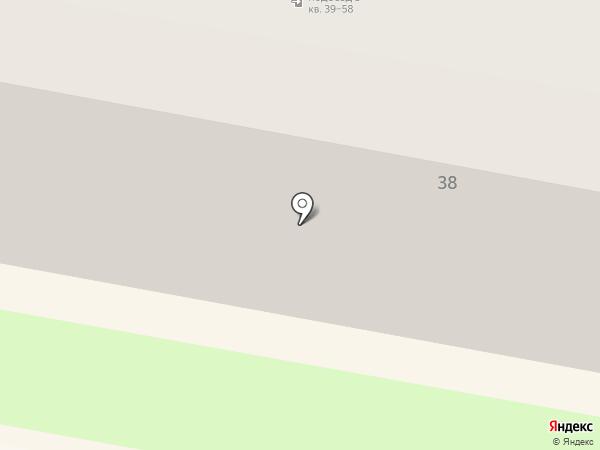 Лина на карте Дзержинска