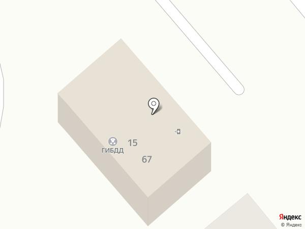 Отдел ГИБДД на карте Георгиевска