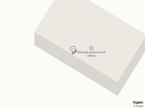 Южный ремонтный завод, ЗАО на карте Георгиевска