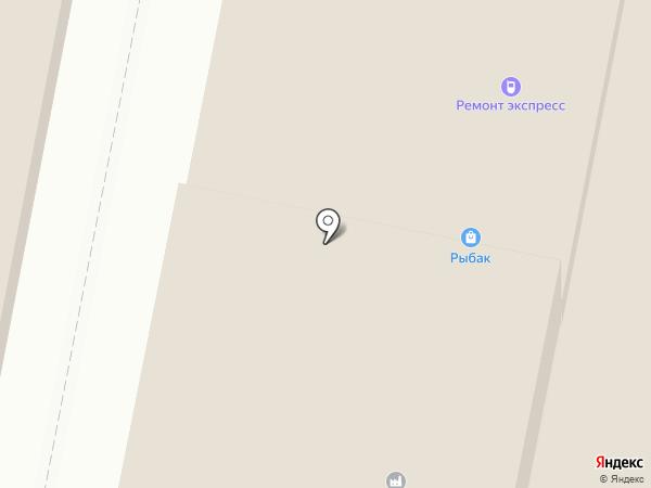 Массив+ на карте Дзержинска