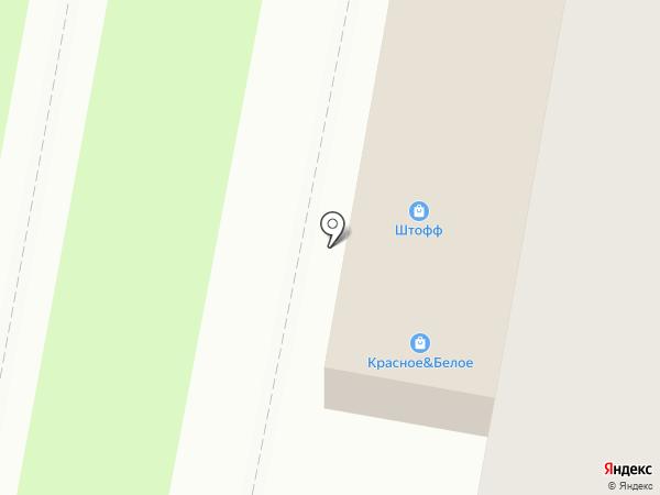 Солянка на карте Дзержинска