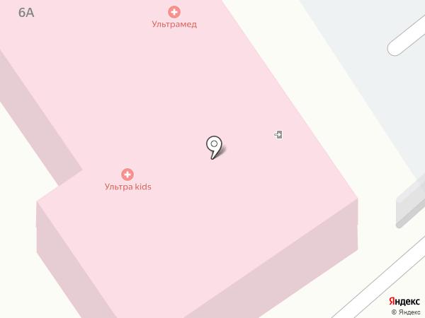 УльтраМед на карте Дзержинска