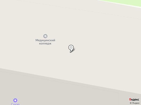 Городская больница №1 г. Дзержинска на карте Дзержинска