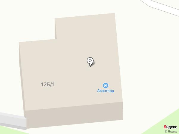 Авангард на карте Богородска