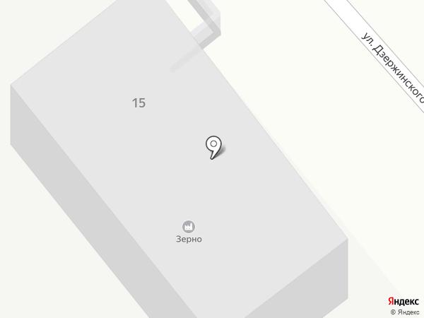 Зерно на карте Георгиевска