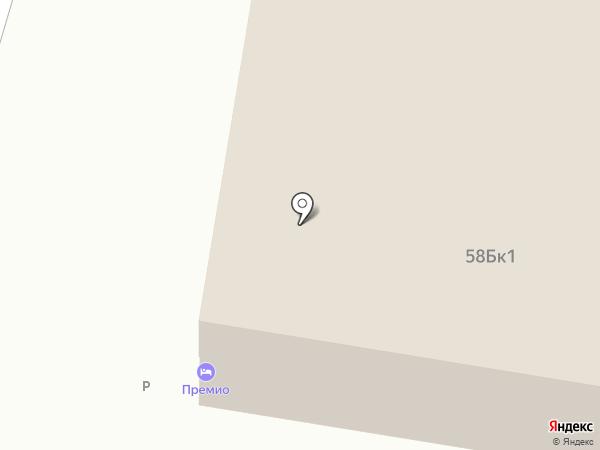 Nissan Премио на карте Дзержинска
