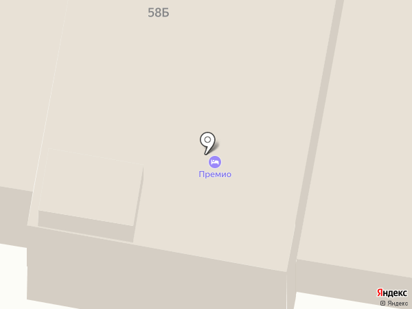 Премио на карте Дзержинска