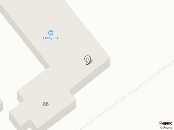 Глазунья на карте Георгиевска