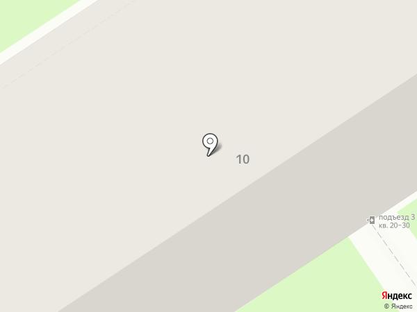 Электрон на карте Дзержинска