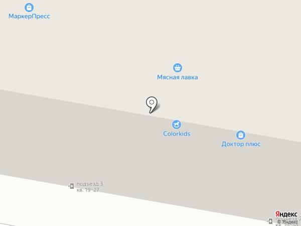 Магазин ивановского текстиля на ул. Маяковского на карте Дзержинска
