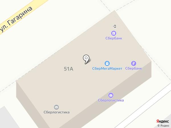 Сбербанк России на карте Георгиевска