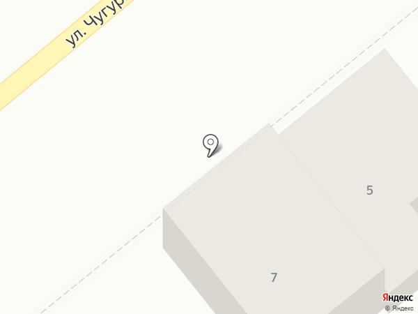 Магазин автозапчастей на карте Георгиевска